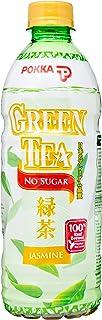 Pokka Jasmine Green Tea No Sugar, 500ml, Pack of 24