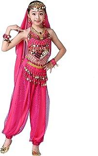 Cosplay Regalo Autunno Infantile Bambino Abiti Outfits,Yanhoo Tutu Costumi di Danza del Ventre per Bambini Vestiti a Mano per Bambini per Carnevale