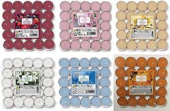 Pure Dlight Maria Rk 0002 Lot de 18 bougies chauffe-plat Motifs