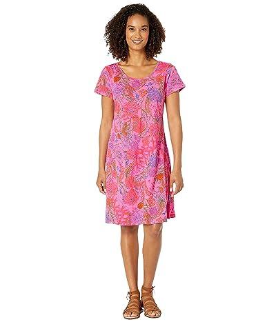 Fresh Produce Oceanscape Sadie Dress (Flamingo Pink) Women