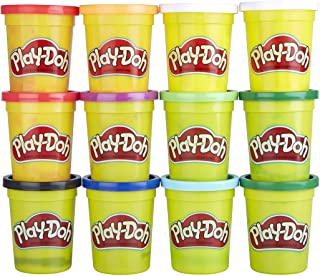 Play-Doh Bulk Winter Colors 12-Pack of Non-Toxic Modeling...