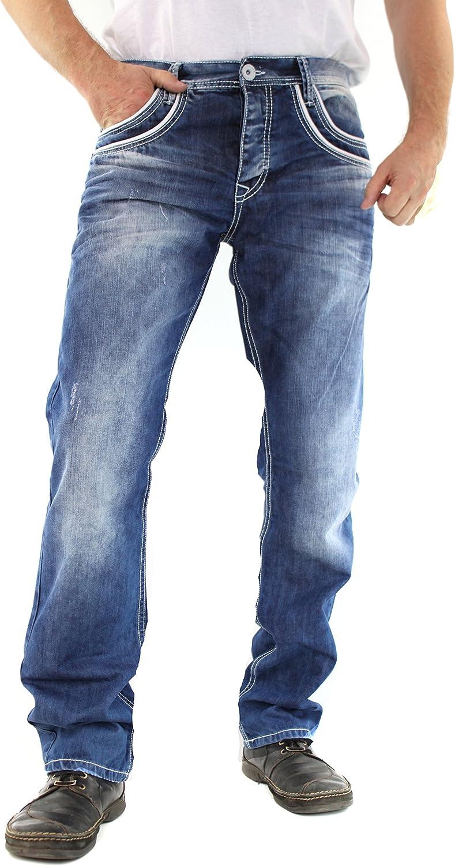 Cipo & Baxx Jeans Hose Herren Blau C-1127 B00OVA1MUC  Am wirtschaftlichsten