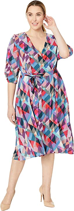 Plus Size Emory Wrap Dress