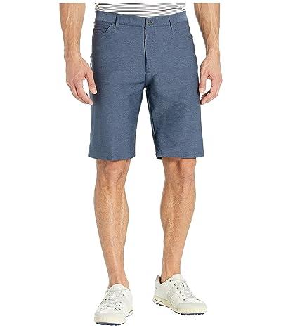 adidas Golf Ultimate Heather Five-Pocket Shorts (Collegiate Navy) Men