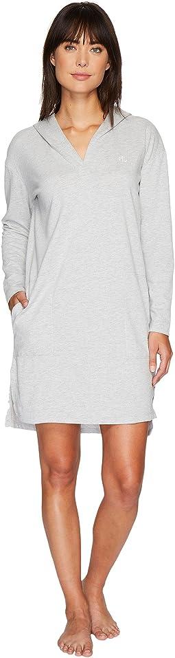 LAUREN Ralph Lauren Lounge Long Sleeve Hooded Lounger