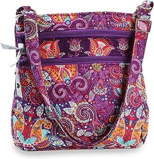 Crossbody Bags for Women, Adjustable Boho Shoulder Purse with Zipper Pockets