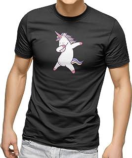 CREO Customized Round Neck Shirt - Unicorn dabbing Design