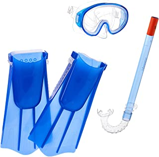 Speedo Kids Aqua Quest Mask/Snorkel/Fin Set