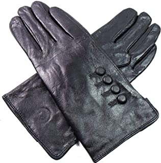 The Leather Emporium Ladies Genuine Leather Gloves Fully Lined