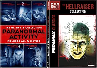Hellraiser Collection + Paranormal Activity - The Ultimate Collection (Movies 1-5) & (Hellraiser 6 Film series)