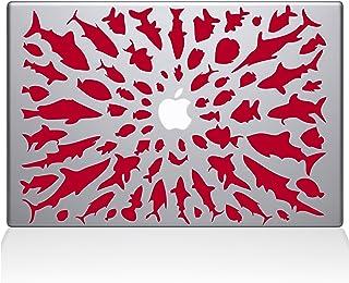 """The Decal Guru Think Different Vinyl Sticker, 13"""" Macbook Pro (2015 & older) 13"""" Macbook Pro (2015 & older) red 0147-MAC-1..."""