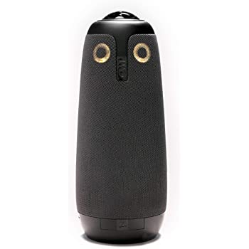 Owl Labs Meeting Owl - 360 Degree, 720p Video Conference Camera, Microphone, and Speaker (Automatic Speaker Focus, Perfect for Huddle Rooms), Black