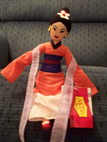 Disney Mulan in Traditional Rosa Dress Bean Bag 10 by Disney