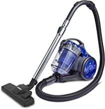 Tower Pets Cylinder Vacuum Cleaner [TXP10PET] HEPA Filter - 2 Litre Capacity, Turbo PET Brush/Combination Floor Head, Crev...