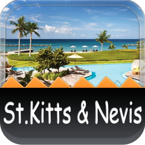 St. Kitts and Nevis Offline Map Travel Guide (Kindle Tablet Edition)