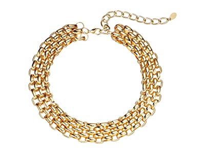 8 Other Reasons Vivid Choker (Gold) Necklace