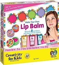 Creativity for Kids Make Your Own Lip Balm - Create 5 Fruity Lip Balms