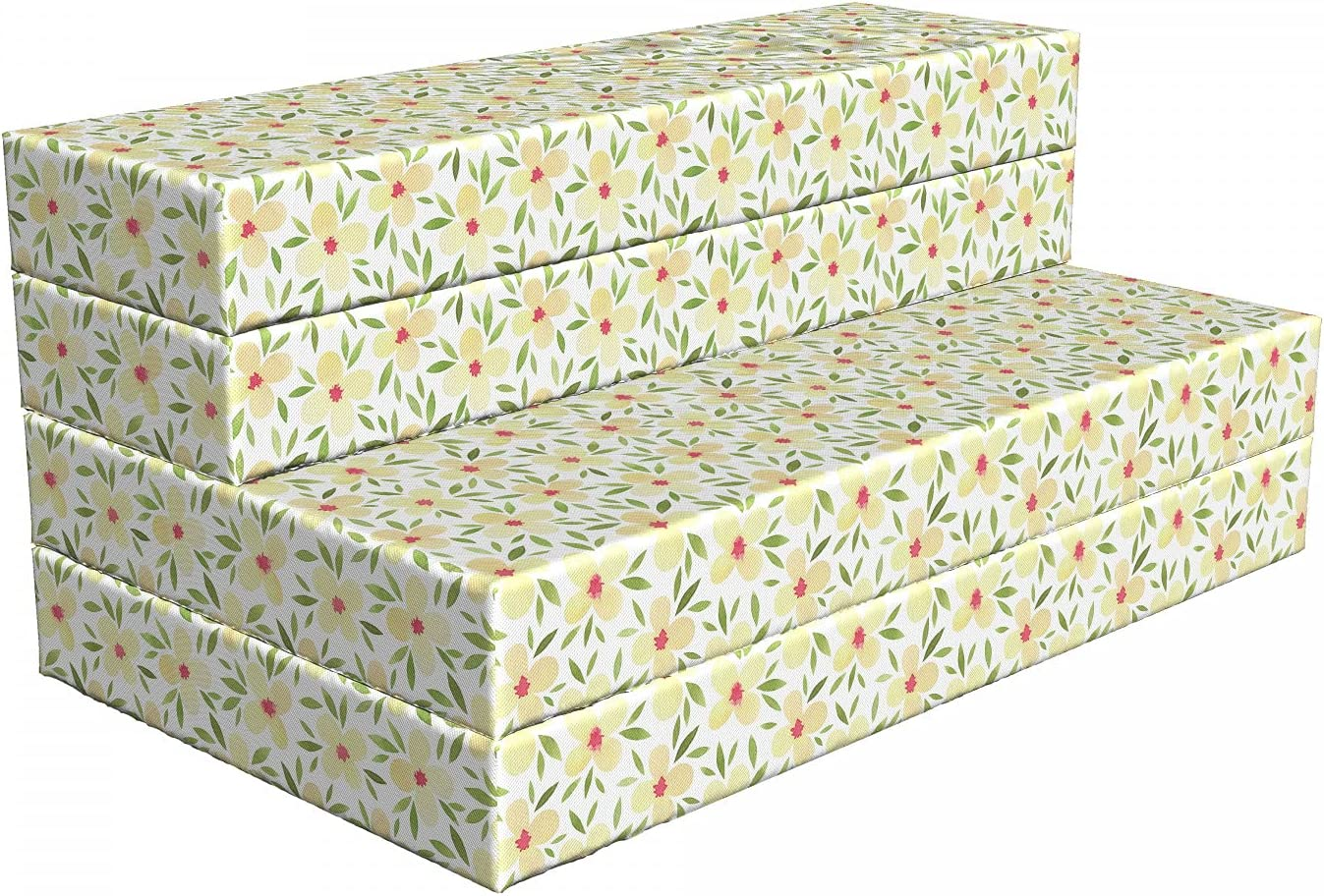 Ambesonne Floral Industry No. Atlanta Mall 1 Foldable Mattress 7 Little Watercolor Flowers