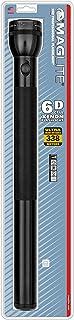 Maglite Incandescent 6-Cell D Flashlight, Black