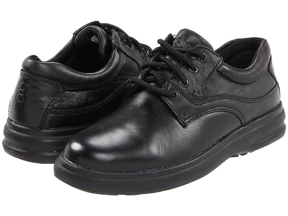 Hush Puppies Glen (Black Leather) Men