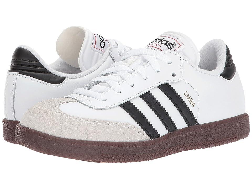 adidas Kids Samba(r) Classic Core (Toddler/Little Kid/Big Kid) (Running White/Black) Kids Shoes