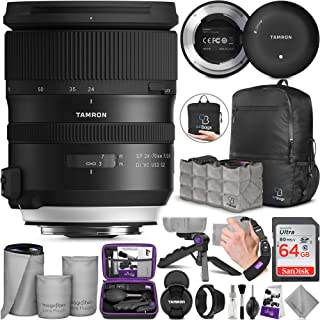 Tamron SP 24-70mm f/2.8 Di VC USD G2 Lens for Nikon F + Tamron Tap-in Console with Altura Photo Advanced Accessory and Travel Bundle