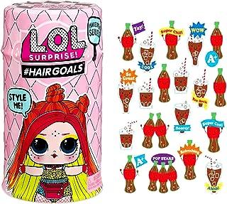 MGA LOL Surprise #Hairgoals Makeover Series 5 Bundle 1 Hairgoals 1 Pop Scented Stickers