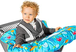 custom shopping cart covers for babies
