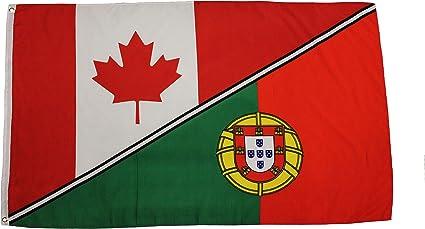 Amazon Com Canada Portugal 3 X 5 Feet Country Flag New Patio Lawn Garden