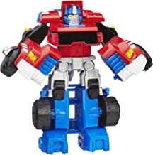 Playskool Heroes Transformers Rescue Bots Optimus Prime Action Figure, Ages 3-7 (Amazon Exclusive)