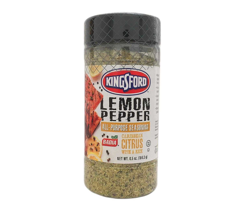 6.5 oz Kingsford Lemon Pepper Max 44% OFF All Max 84% OFF Caribbean Purpose Ci seasoning