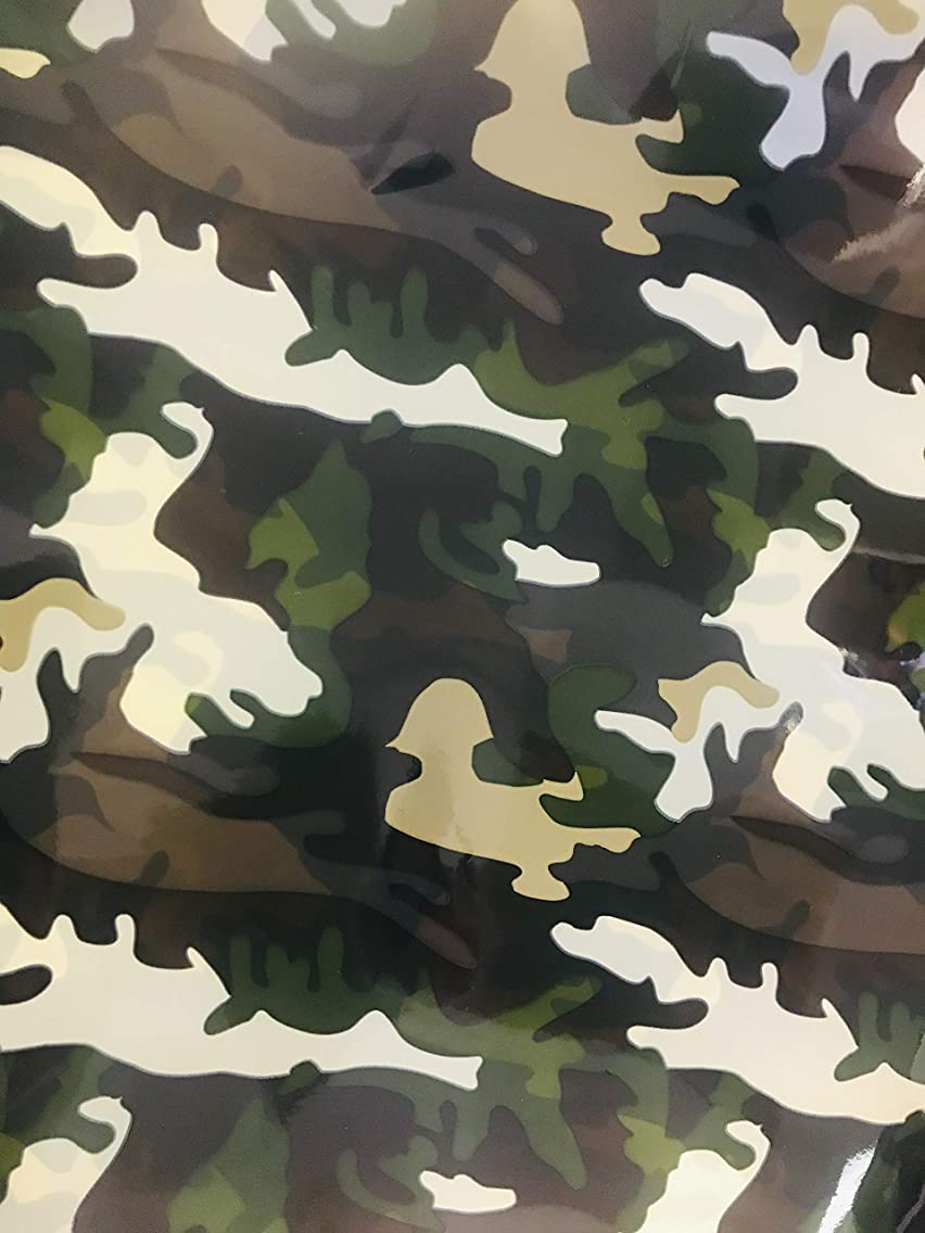 Camouflage Gift Wrapping Paper 20 Inch x 20 Inch Sheets Bulk Pack of 20