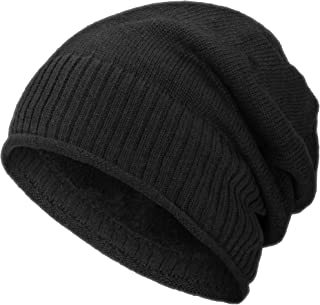 Butterme Unisex Elegante Hip-Hop Hiphop Gorra Moda Algod/ón Tejido Slouchy Beanie Hat Caliente Suave Estiramiento Invierno Slouch
