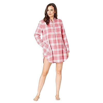 UGG Gabri Sleepshirt and Sock Set (Claret Red Plaid) Women