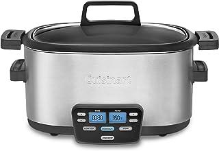 Cuisinart MSC-600 3-In-1 Cook Central 6-Quart Multi-Cooker: Slow Cooker, Brown/Saute, Steamer