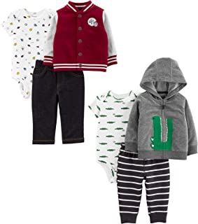 Carter's Baby Boys 2-Pack 3-Piece Cardigan Set