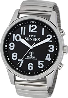 Atomic English Talking Watch - 5 Senses Jumbo Size 43mm Talking Watch :1523