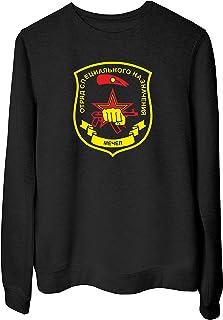 06977c764f Speed Shirt Felpa Girocollo Donna Nera T0921 Forze Speciali MECHEL Militari