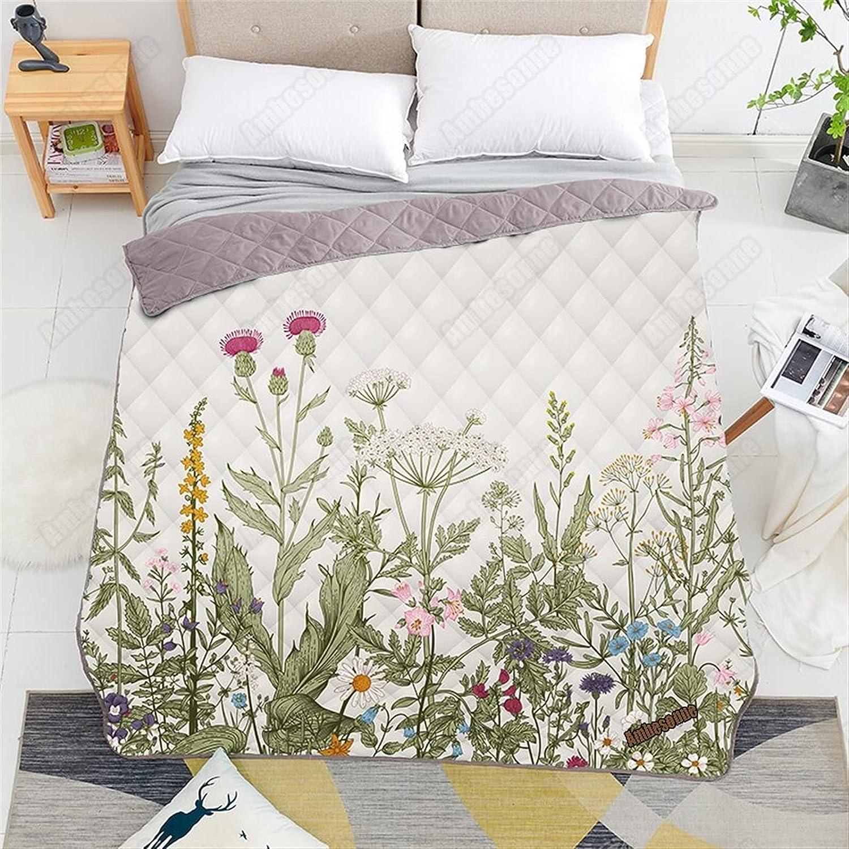 Zasinege Seamless Floral Border Printed Ki Quilt Sofa Home Cover Ranking TOP15 Save money