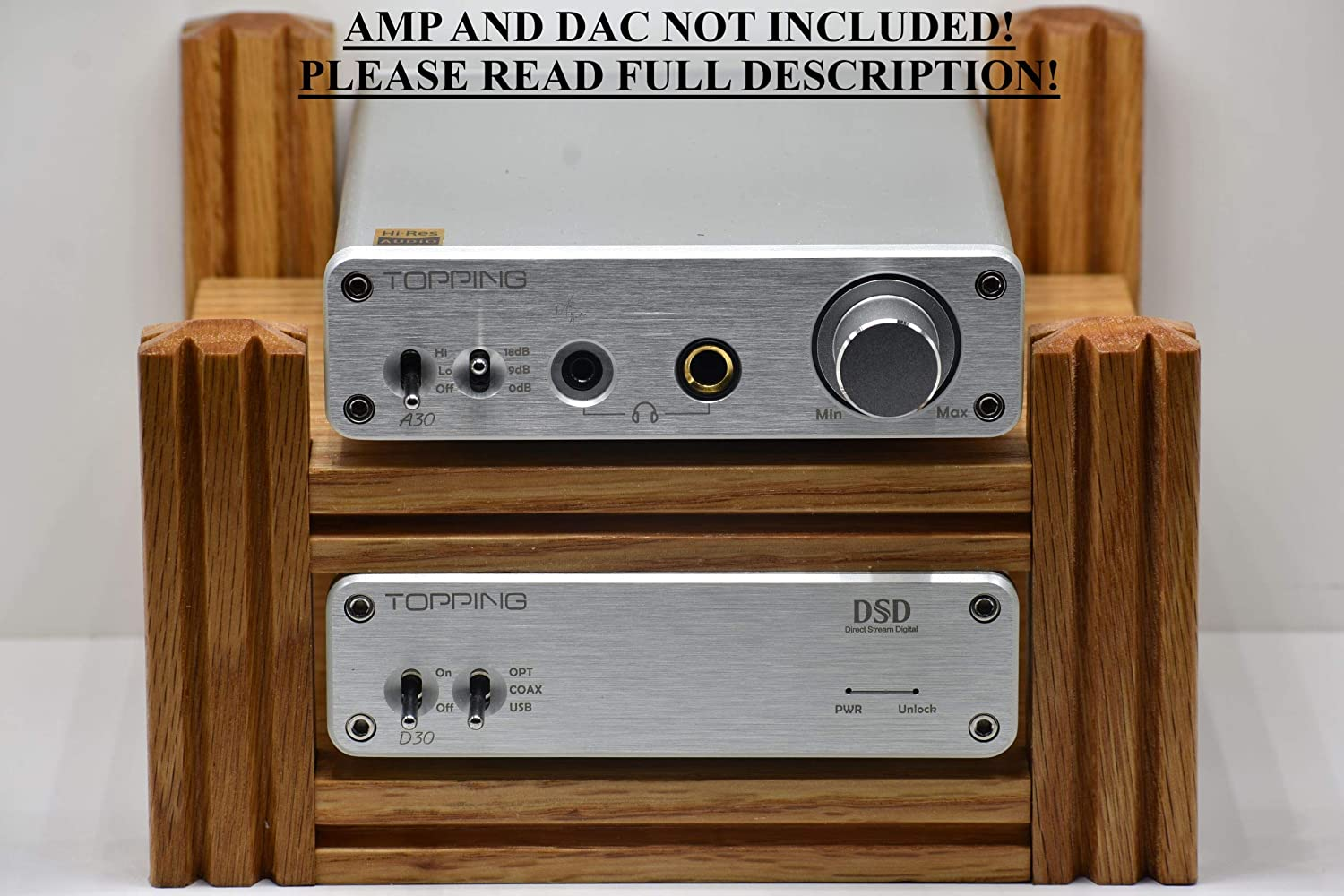 Topping Mesa Mall D30 DAC and display stand sale A30 Amp