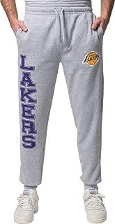 Ultra Game NBA Men's Jogger Pants Active Basic Soft Terry Sweatpants