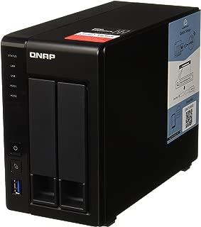 QNAP 2 插槽,6TB(2X 3TB NAS 驱动器) Intel 2.0GHz 四核 CPU (TS-251+-2G-23R-US)