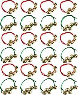 Tigerdoe Jingle Bell Bracelet Bulk - Christmas Party Favors - Holiday Party Supplies - (24 Pack)