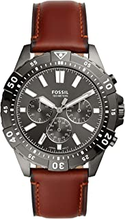 FOSSIL MENS GARRETT LEATHER WATCH - FS5770