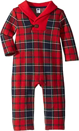 Long Sleeve Plaid Bodysuit (Infant)