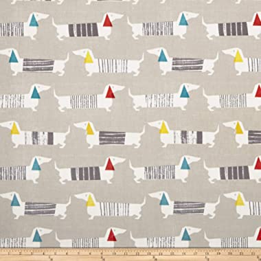 STOF France Teckel Fabric, Naturel, Fabric By The Yard