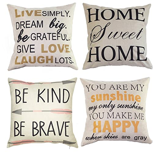 Decorative Pillows with Words Amazon.com