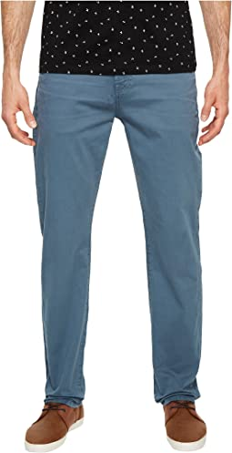7 For All Mankind - The Straight Tapered Straight Leg w/ Clean Pocket in Blue Wave