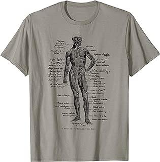 Human Muscle Anatomy Design Gift Idea T-Shirt