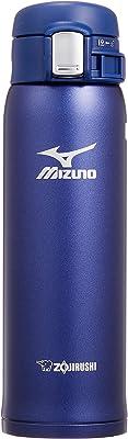 象印 水筒 直飲み 軽量ステンレスマグ 「MIZUNO」モデル 480ml ブルー SM-SM48-AA